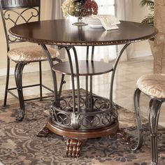 ashley furniture on pinterest furniture  counter height overstock glass sofa table Cotail Table Overstock