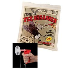 Aim and shoot The Fly Assassin at your target. Its as simple as load, aim, fire. And that pesky fly is history! Swat, Assassin, History, Gun, Target, Fire, Simple, Products, Historia