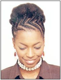 Cornrows Designs For Women | Of course for years, my hair was a variation on one of these two ...