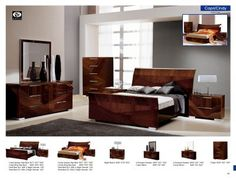 Capri (Capri & Cindy Beds) http://www.agmfurniture.com/alf-bedroom.html