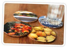 Make Your Own Cork Photo Coasters: Corksters!   Photojojo