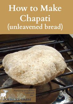 When we first learn to make chapatis we were taught to do it over our barbeque grill which has a griddle and a gas burner. We cooked the…