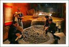 The Gray Fossil Site and Museum in Gray Tennessee near Watauga Lake Tennessee