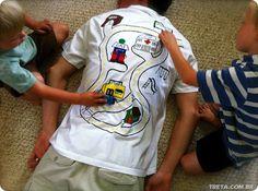 Dad's t-shirt--more like MOM t-shirt!!!