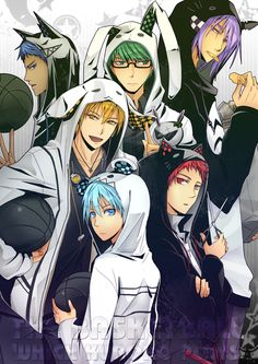 Generation of Miracles - Kuroko no Basuke (The Basketball Which Kuroko Plays)