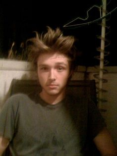 Sterling Knight----(look at that hair)