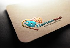 Electronic Heart Logo by fastudiomedia on Creative Market