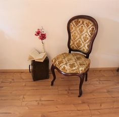 This cozy vintage chair will warm up your home Slight age-related signs of wear are of course available. Shabby, Wingback Chair, Accent Chairs, Furniture, Etsy, Home Decor, Vintage Chairs, Baroque, Armchair