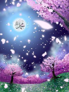 Rasulûllah ﷺ, Prophet Muhammad ﷺ, calligraphy Allah Wallpaper, Islamic Wallpaper, Muslim Quotes, Islamic Quotes, Allah Islam, Muhammad, Islamic Art, Quran, Northern Lights