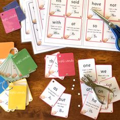First 100 Sight Word Flash Cards Cvce Words, Rhyming Words, Spelling Words, Literacy Centers, Early Literacy, Sight Words Printables, Sounding Out Words, Phonics Programs, Sight Word Flashcards