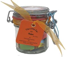 A Month of ★Success & Inspiration★ quotations in a jar. The Perfect Inspirational Gift for the loved ones in your life especially for Birthdays, Graduation and other special holidays - Good Luck wishes for exams. Each jar contains 31 Multi-coloured Quotes - a month of motivational Thoughts and Sayings in a 125ml Kilner clip type glass jar to inspire loved ones to happiness & success. For teachers, friends, family and special people in your life - mum, dad, wife, brother, husband, sisters…