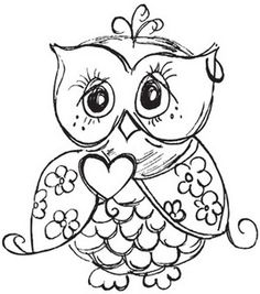 """Mini Clear Stamp 3""""X5""""-Owl: stamps: stamping: scrapbooking: Shop 