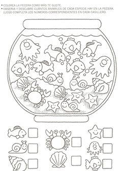 Crafts,Actvities and Worksheets for Preschool,Toddler and Kindergarten.Lots of worksheets and coloring pages. Preschool Learning, Kindergarten Worksheets, Worksheets For Kids, Preschool Activities, Teaching, Number Worksheets, Writing Activities, Hidden Pictures, Math For Kids