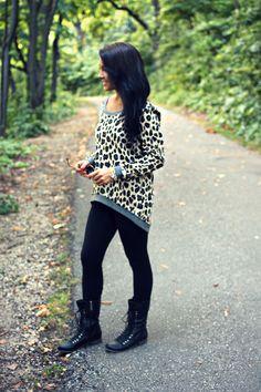 Leopard Sweater!