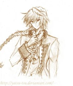 pandora hearts jack vessalius - Google Search