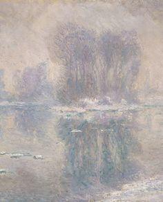 Ice Floes (detail), Claude Monet