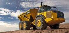 Who doesn't love an articulating rock truck?