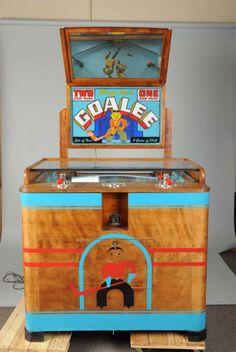 5 ¢ Chicago Coin Goalee 2 Player Arcade Game
