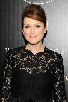 Julianne Moore glows at the premiere of What Maisie Knew.