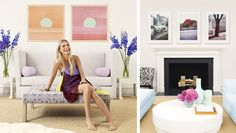 Gwyneth's living room.