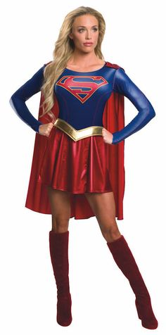 Supergirl TV Series Adult Costume - Hey, there's an official one now!