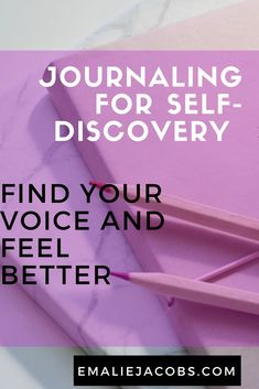 Journal Prompts for Self-Discovery | Love yourself | Loving you| Self-Care | Writing Inspiration | emaliejacobs.com