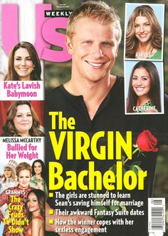 I just don't understand why Sean Lowe gets referred to as the virgin bachelor and not the sexy bachelor