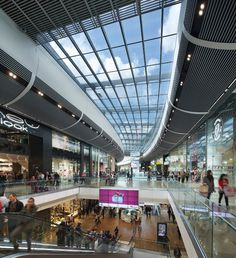 Westfield Stratford City is the largest shopping mall in Europe. London.