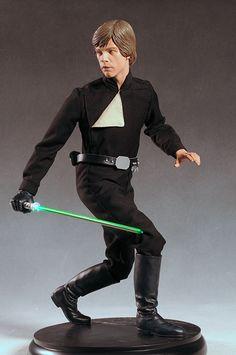 Jedi Luke Skywalker Star Wars Premium Format statue by Sideshow Collectibles