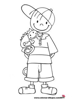 clip art black and white | Black and White School Kids ...