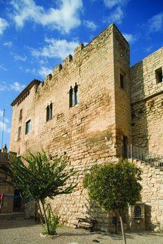 Castell d' Espluga Calba, Lleida, Catalonia.