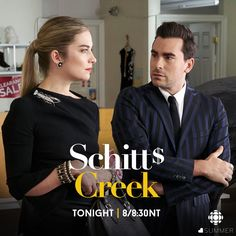 I love Schitts Creek show. My favorite in the show is Alexis Rose. She so beautiful. She is Hot and Sexy. Lawn Signs is my favorite episode because of Alexis wearing a very nice black dress looking as Sexy as she can be. I Love her.