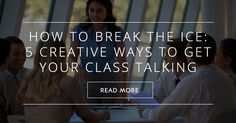 Icebreakers are important when you are trying to get to know your students.They…