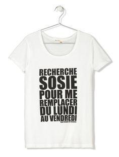 T-shirt Bizzbee Recherche Sosie