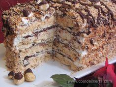 """Торт """"Безе с фундуком"""" (Hazelnut Meringue Cake)"""