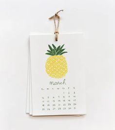 Rifle Paper Co. - 2012 Fruit Calendar