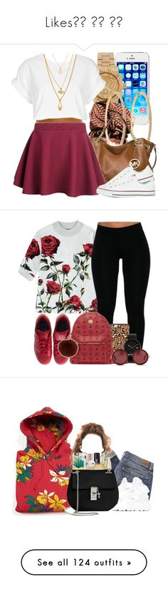 """Likes❤️ ❤️ ❤️"" by yani122 ❤ liked on Polyvore featuring Michael Kors, Roberta Chiarella, MICHAEL Michael Kors, Topshop, Converse, art, OBEY Clothing, Paige Denim, NIKE and INIKA"