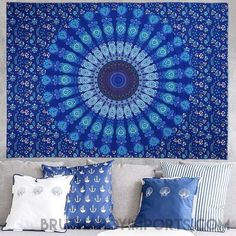 Beach towel Indian Mandala tablecloth Hippie Wall Hanging Tapestries Boho Bedspread Yoga Mat Blanket Table Cloth