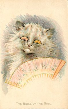 THE BELLE OF THE BALL(1915) Louis Wain