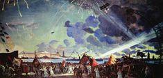 Boris Kustodiev Moonscape, Sale Artwork, Great Artists, Nature Art, Painting, Soviet Art, Art Nouveau, Art, Purchasing Art