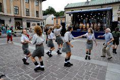 Senior Girl Guides from Poland