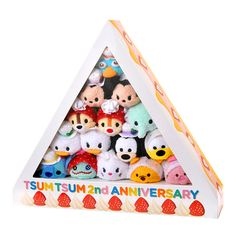 Tsum Tsum 2nd Anniversary Box Set - Limited to 5000 - Only available in Japan on Oct. 18, 2015.