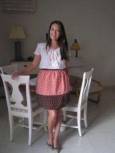 Falda mujer lunares falda vintage falda corta falda por LiliyCoco, €32.00