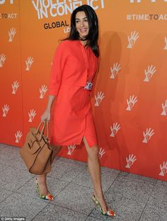 Introducing The Amal: Italian shoe and handbag label Ballin have renamed a $1,198 tote in ...