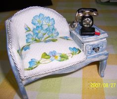 how to: telephone seat
