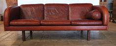 Jorgen Gammelgaard EJ 20 Three-Seat Sofa, Denmark, 1969   From a unique collection of antique and modern sofas at http://www.1stdibs.com/furniture/seating/sofas/