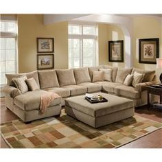 4510 Casual Sectional Sofa Group With Chaise By Corinthian Wolf Furniture Pennsylvania