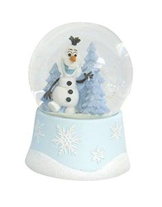 Disney Frozen Musical Waterglobe Snow Globe - Olaf