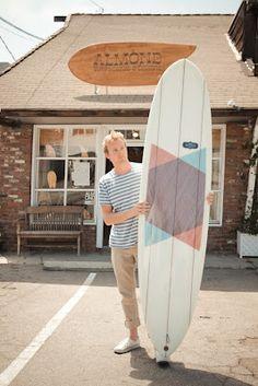 Pretty... Almond Surfboards & Designs