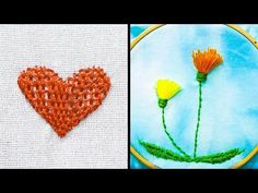 18 EASY EMBROIDERY HACKS FOR KIDS - YouTube